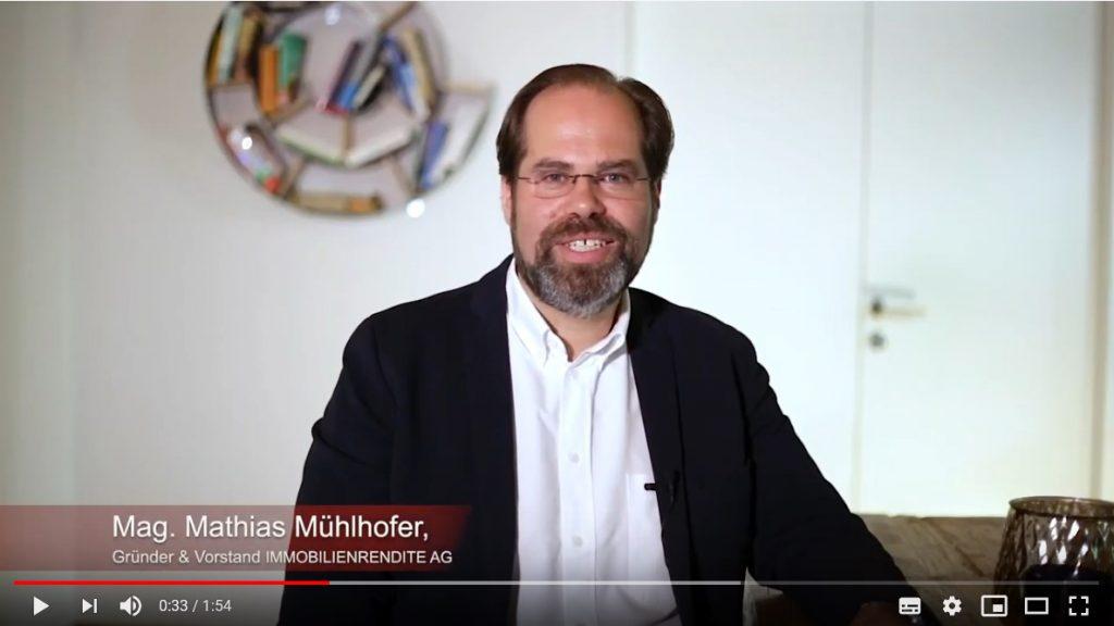 Vorstand Mathias Mühlhofer im Interview